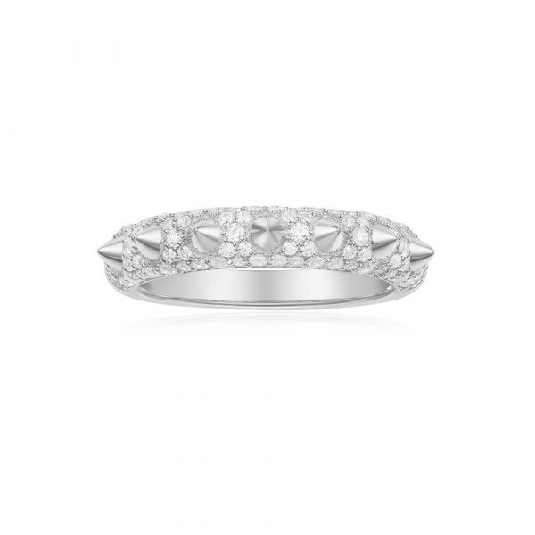 SILVER 'Hérisson' RING