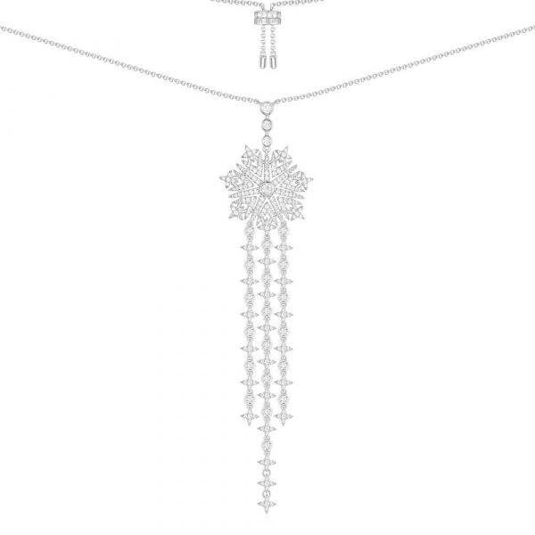 Silver HARMONIE Long Necklace